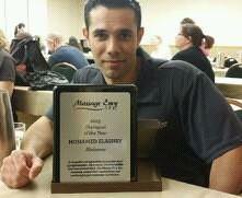 massage envy award